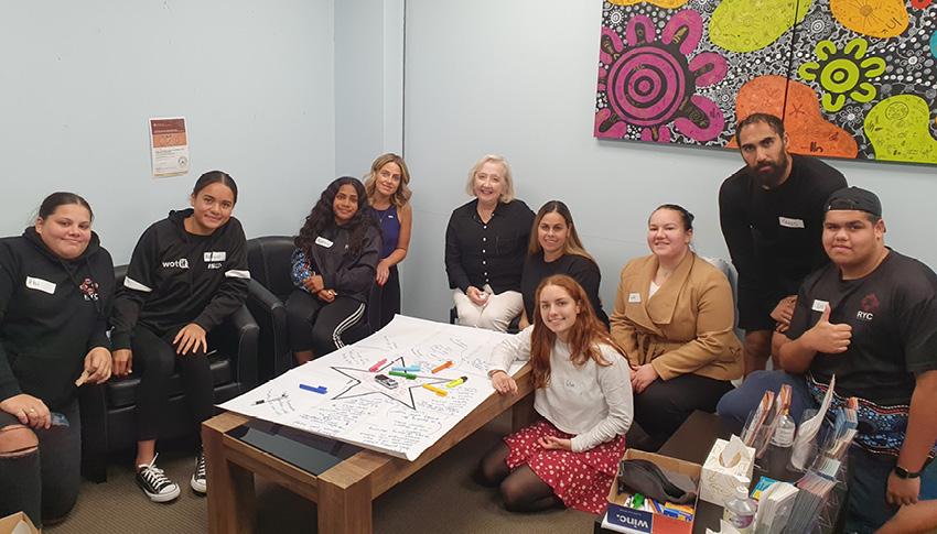 National Children's Commissioner visits Absec