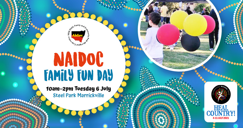 AbSec NAIDOC Family Fun Day Line-up 2021